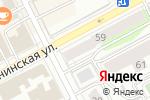 Схема проезда до компании Содержание объектов инженерной инфраструктуры в Перми