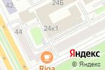 Схема проезда до компании Сейфмаркет в Перми