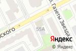 Схема проезда до компании Mr.Doors в Перми