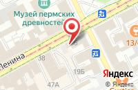 Схема проезда до компании Облснаб-Инвест в Перми