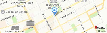 Департамент образования на карте Перми