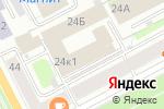 Схема проезда до компании King Pong в Перми
