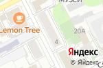 Схема проезда до компании Тихая гавань в Перми