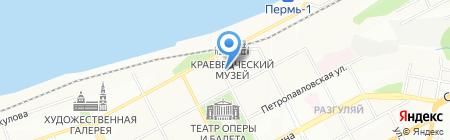 Детский сад №273 на карте Перми