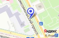 Схема проезда до компании ПЕРМСКИЙ ФИЛИАЛ САЛОН СОТОВОЙ СВЯЗИ БИЛАЙН GSM в Перми