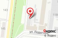 Схема проезда до компании Техстройинвест в Перми