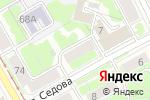Схема проезда до компании Амулет в Перми