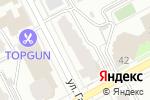 Схема проезда до компании Пик в Перми