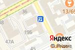 Схема проезда до компании Формула успеха в Перми