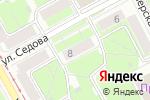 Схема проезда до компании Секонд-хенд и Сток в Перми