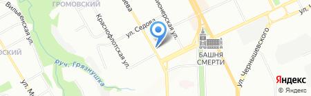Оптим на карте Перми