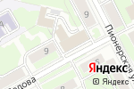 Схема проезда до компании ВРЕМЯ ДЕНЬГИ в Перми