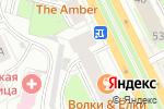 Схема проезда до компании Infasion в Перми