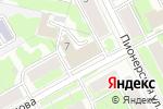 Схема проезда до компании ТрансЭкспресс в Перми