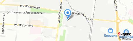 Crema на карте Перми