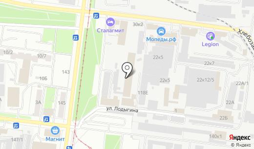 Crema. Схема проезда в Перми