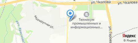 Техметалл на карте Перми