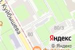 Схема проезда до компании ЭКОПРОМ ИНЖИНИРИНГ в Перми