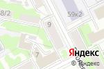 Схема проезда до компании АБВ-Комфорт в Перми