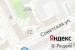Схема проезда до компании Стоматологическая клиника доктора Бабинцева в Перми
