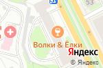 Схема проезда до компании OHARA в Перми