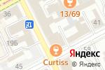 Схема проезда до компании Департамент финансов Администрации г. Перми в Перми