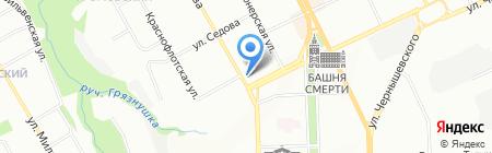 Банкомат АКБ Урал ФД на карте Перми