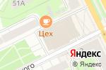 Схема проезда до компании Tapas в Перми