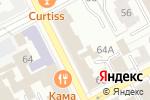 Схема проезда до компании Меховая мода в Перми