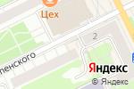Схема проезда до компании Форнетти в Перми