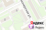 Схема проезда до компании Лазаревские берега в Перми