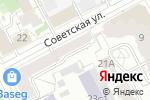 Схема проезда до компании Пермстройинтер в Перми