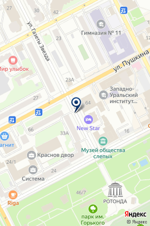 ПТФ АВРОРА-МЕБЕЛЬ на карте Перми