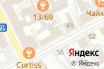 Схема проезда до компании Банк Уралсиб в Перми