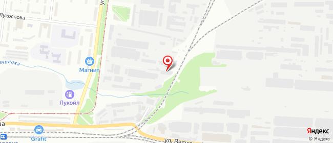 Карта расположения пункта доставки DPD Pickup в городе Пермь