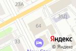 Схема проезда до компании Пушкин в Перми