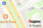 Схема проезда до компании Академия английского языка в Перми