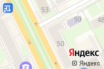 Схема проезда до компании Ветошь в Перми