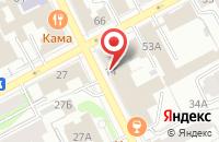 Схема проезда до компании Шелла в Перми