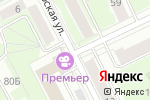 Схема проезда до компании Каскад в Перми