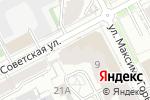 Схема проезда до компании Neva в Перми