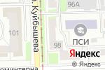 Схема проезда до компании Тортила в Перми