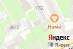 Схема проезда до компании Престиж-строй в Перми