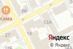 Схема проезда до компании Good Luck в Перми