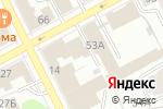 Схема проезда до компании Астрон-комфорт в Перми
