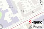 Схема проезда до компании Кедровая здравница в Перми