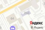 Схема проезда до компании Каменный город в Перми