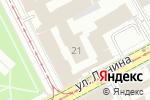 Схема проезда до компании АВД в Перми