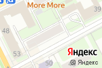 Схема проезда до компании Бакалавр 24 в Перми
