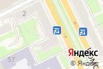 Схема проезда до компании Level Lounge в Перми